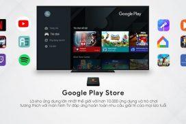 Google Play Store kho ứng dụng phong phú