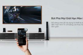 Phát những nội dung trên điện thoại qua màn hình tivi thật dễ dàng